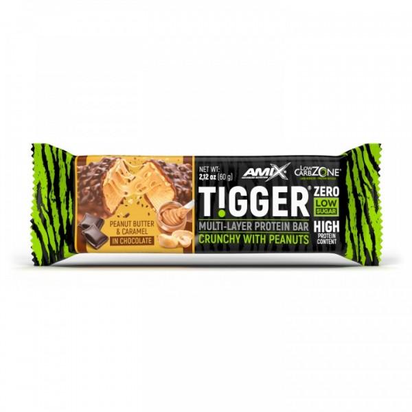 Amix TiggerZero Protein Bar 60g Kikiriki & Karamela