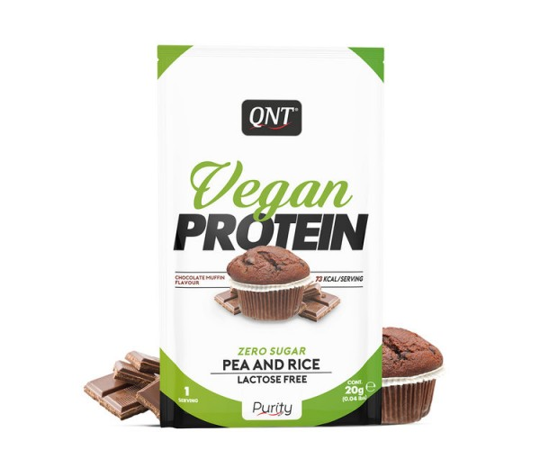 QNT Vegan Protein 20g Čokolada