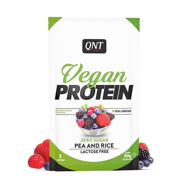 QNT Vegan Protein 20g Crveno voće