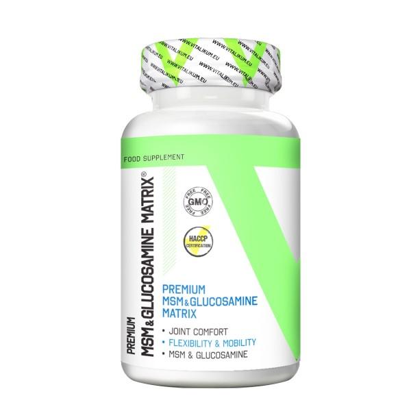 Vitalikum Premium MSM & Glucosamin 90 tbl