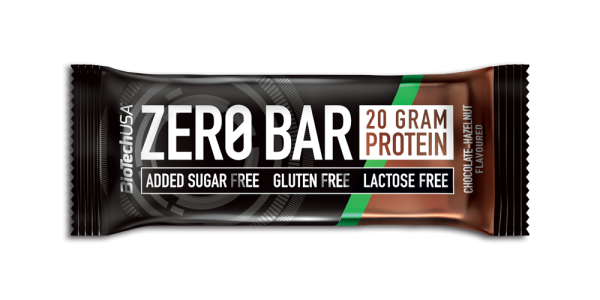 Zero Bar Čokolada-lešnik 50 g