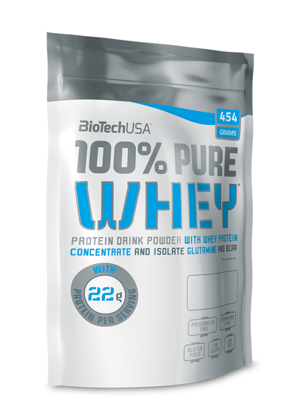 100% Pure Whey 454 g Lešnik