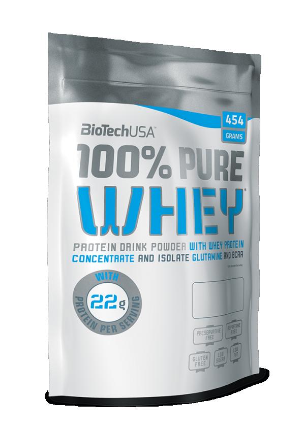 100% Pure Whey, Lešnik, 454 g