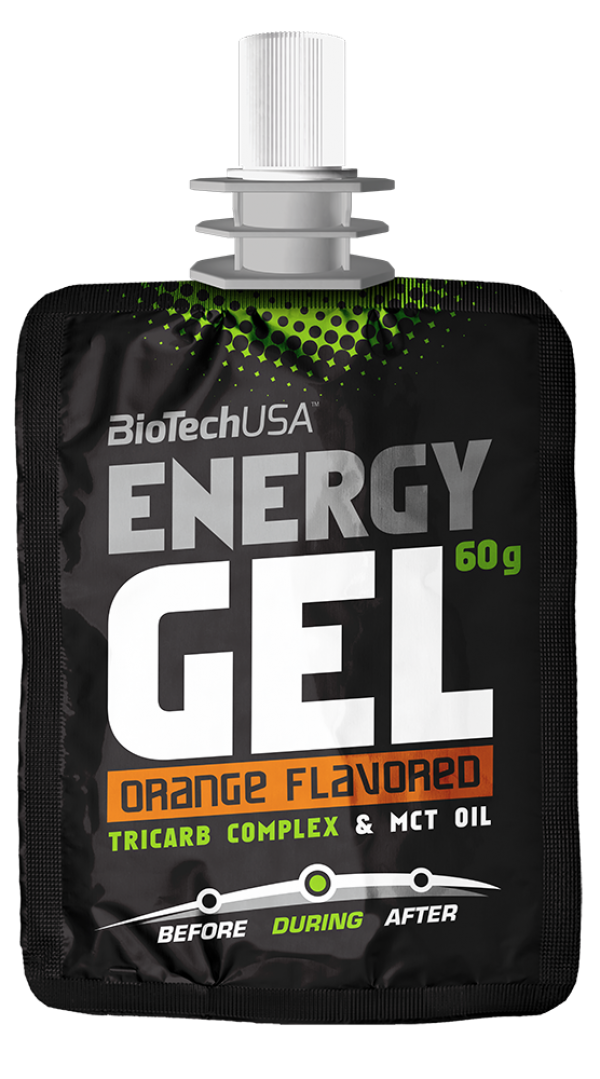 Energy Gel, Pomorandža, 60 g