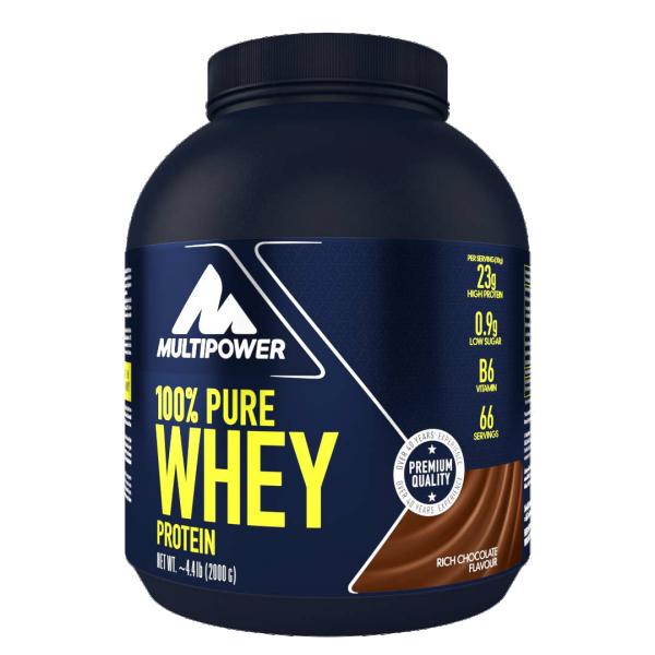 100% Pure Whey, Čokolada, 2 kg