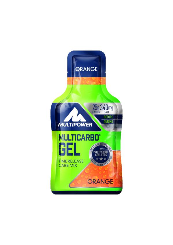 Multicarbo Gel, Pomorandža, 50 g