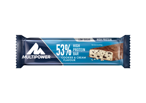 Protein Bar 53%, Cookies & cream, 50 g