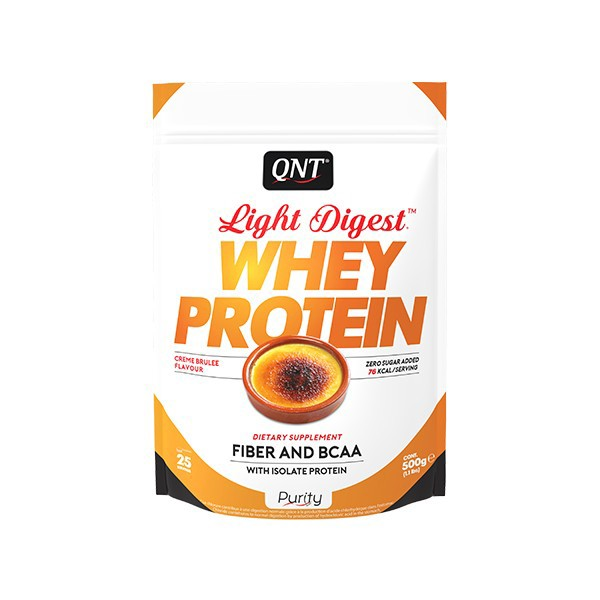 Light Digest Whey, Creme brule, 500 g