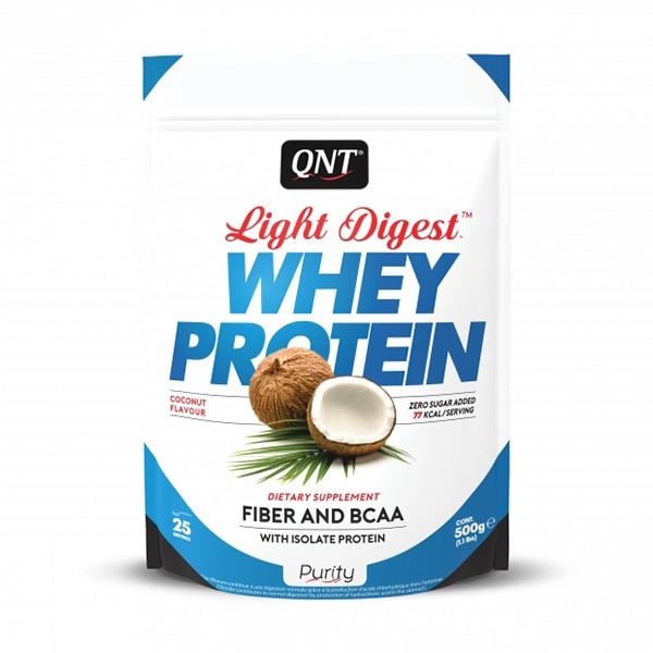 Light Digest Whey, Kokos, 500 g