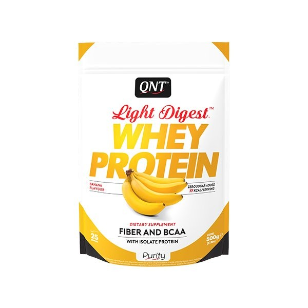 Light Digest Whey, Banana, 500 g
