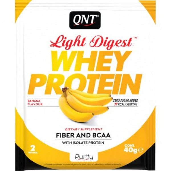 Light Digest Whey, Banana, 40 g