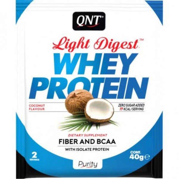 Light Digest Whey, Kokos, 40 g