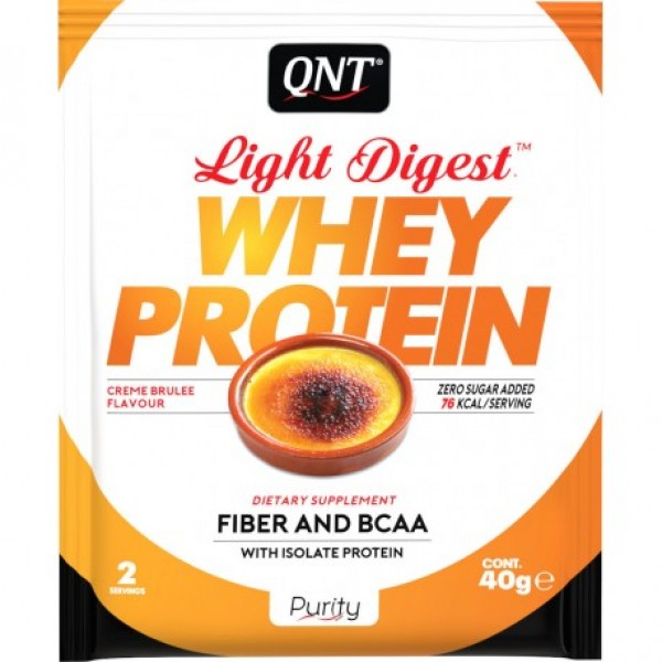 Light Digest Whey, Creme brule, 40 g