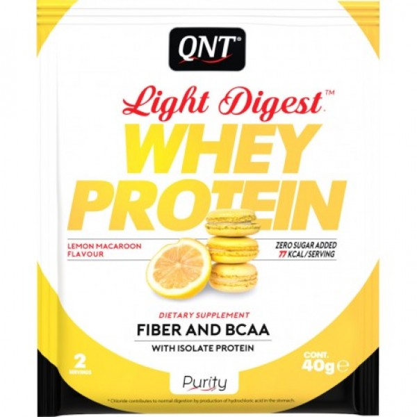 Light Digest Whey, Limun, 40 g