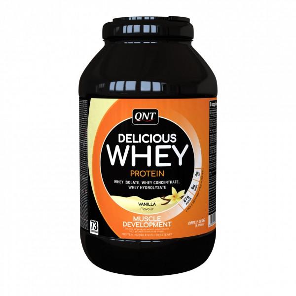 Delicious Whey Protein, Vanila, 2,2 kg