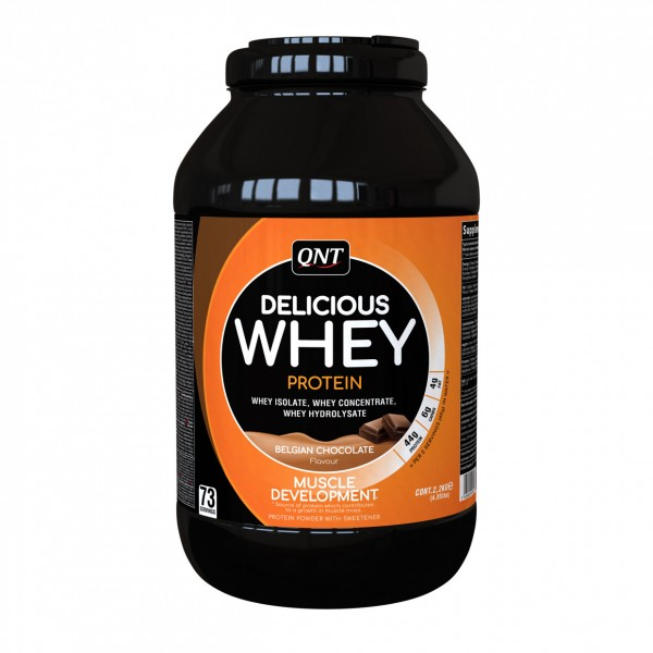 Delicious Whey Protein, Čokolada, 2,2 kg