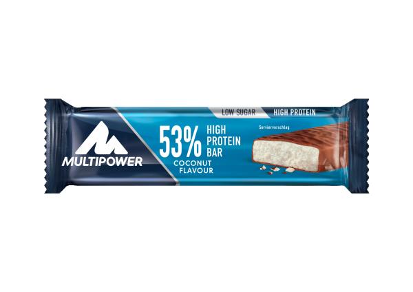 Protein Bar 53%, Kokos, 50 g