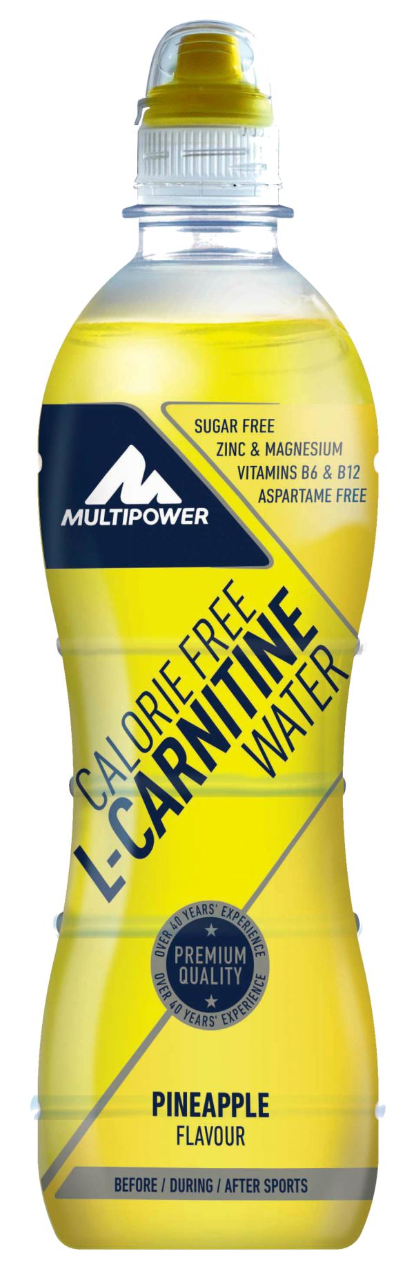 L-Carnitine Water, Ananas, 500 ml