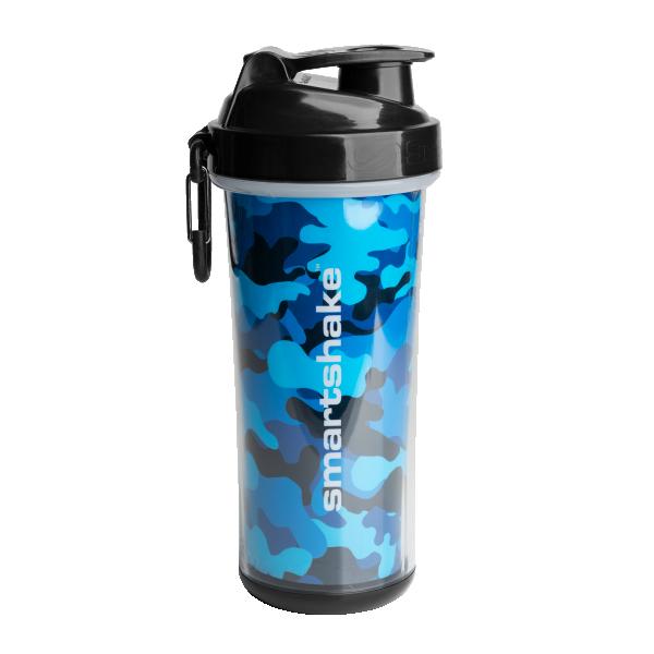 Smart Šejker DoubleWall, 750 ml Camo plavi