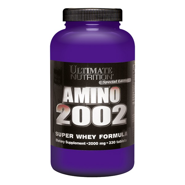 Ultimate Nutrition Amino 2002, 330 tbl