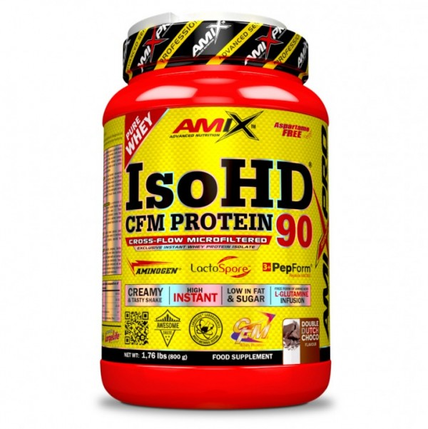 IsoHD 90 cfm Double Dutch Chocolate, 800 g