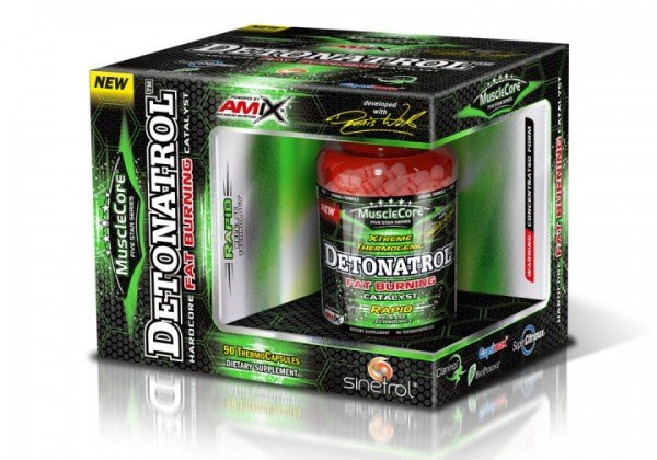 MuscleCore Detonatrol Fat burner 90 cap