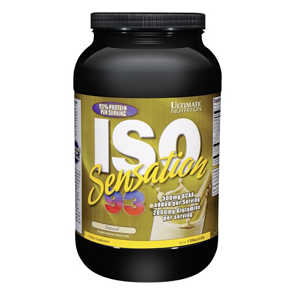 Ultimate Nutrition Iso Sensation 93, Vanila, 910 g