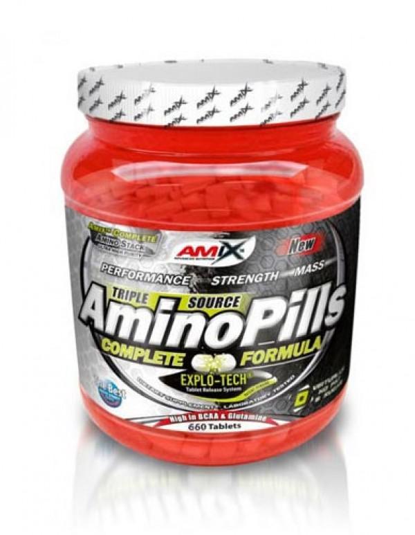 AMIX Amino PIills, 660 tbl