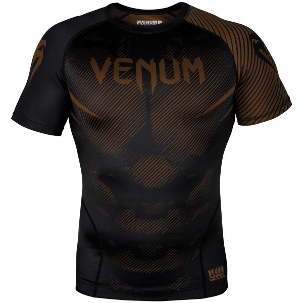 Venum-Rashguard KR NoGi B-Braon XL