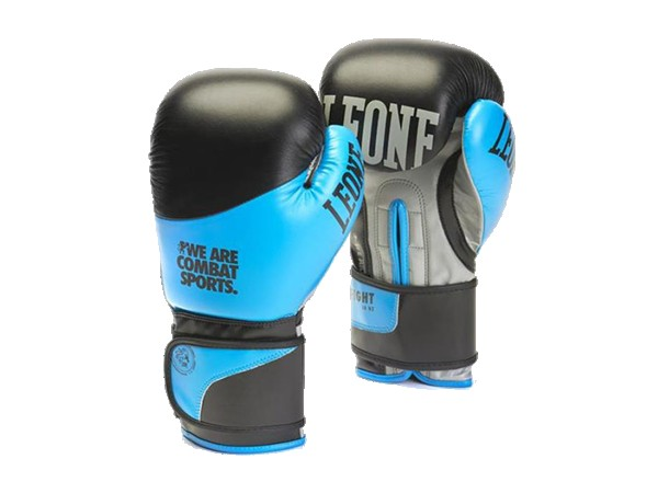 Rukavice za Boks Leone Fight Plave 10OZ