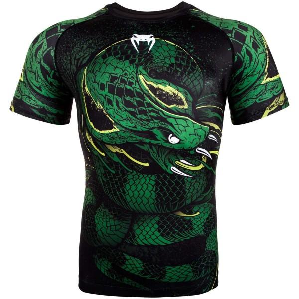 Venum-Rashguard KR Green Viper BG M