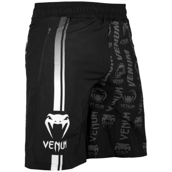 Venum Fitnes Šorts Logos BW XL