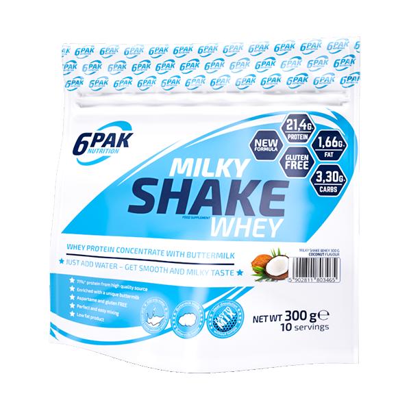 Milky Shake Whey 300 g  Jagoda