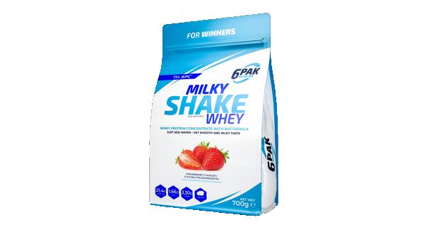 Milky Shake Whey 700 g Jagoda