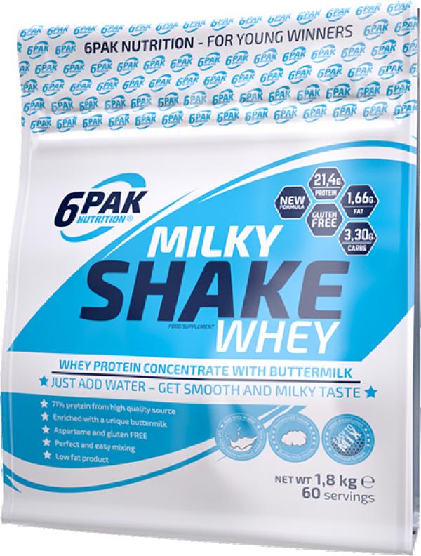 Milky Shake Whey 1,8 kg Vanila