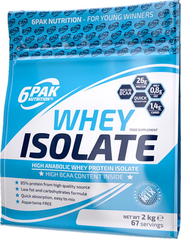 Whey Isolate 2 kg Bela čokolada