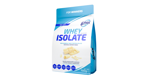 Whey Isolate 700 g Bela čokolada