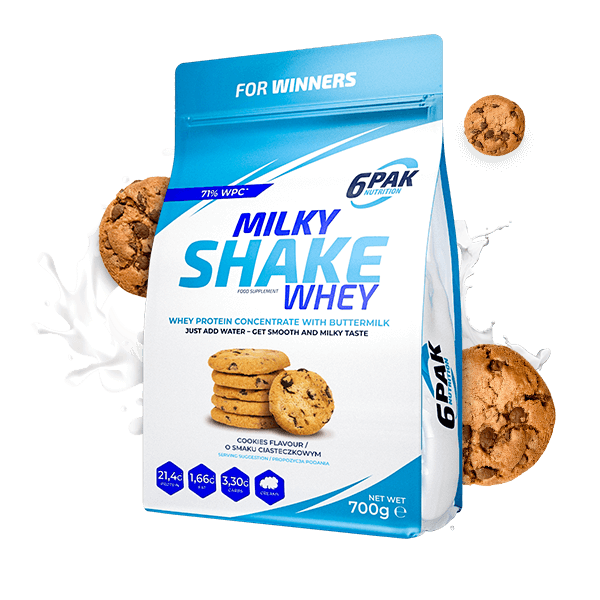 Milky Shake Whey 700 g Cookie