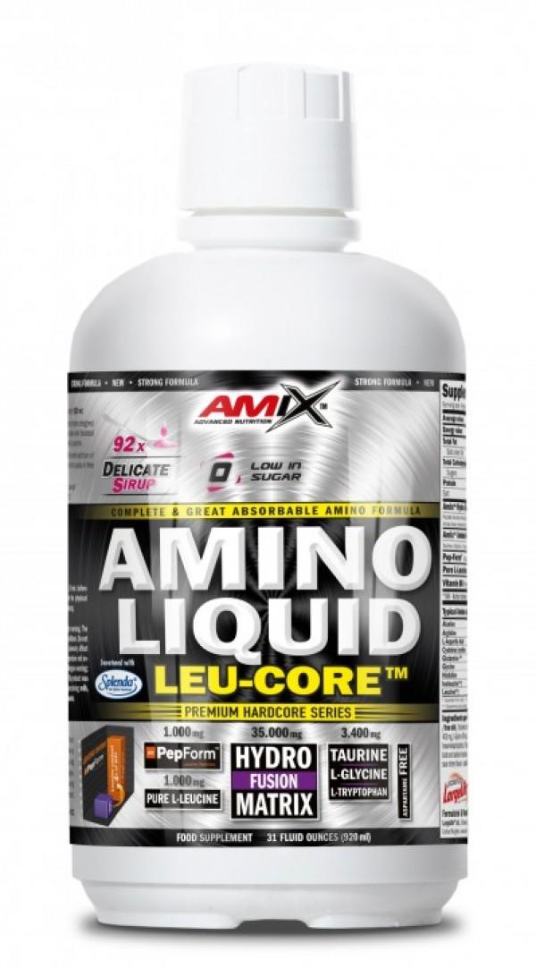 AMIX Amino Liquid LEU-CORE 920 ml Višnja