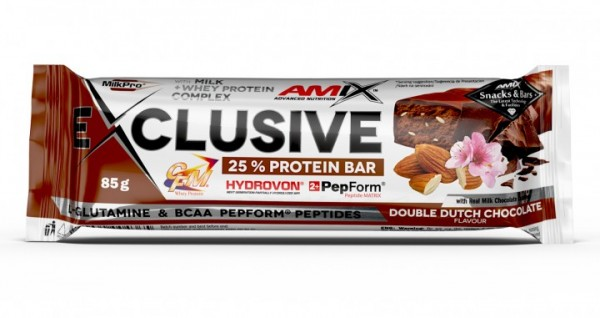Exclusive Protein Bar 85 g Dupla čokolada