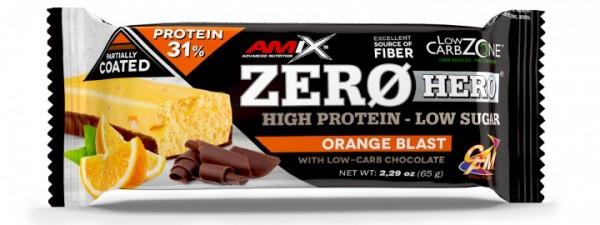 Zero Hero Protein Bar 65 g Pomorandža
