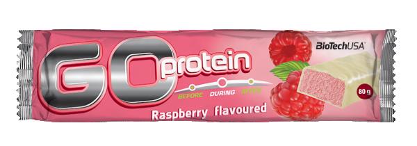 Go Protein Bar 80 g Malina
