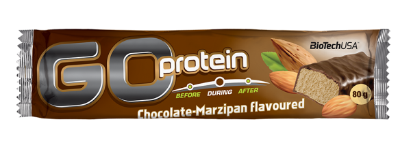 Go Protein Bar 80 g Čokolada-marcipan