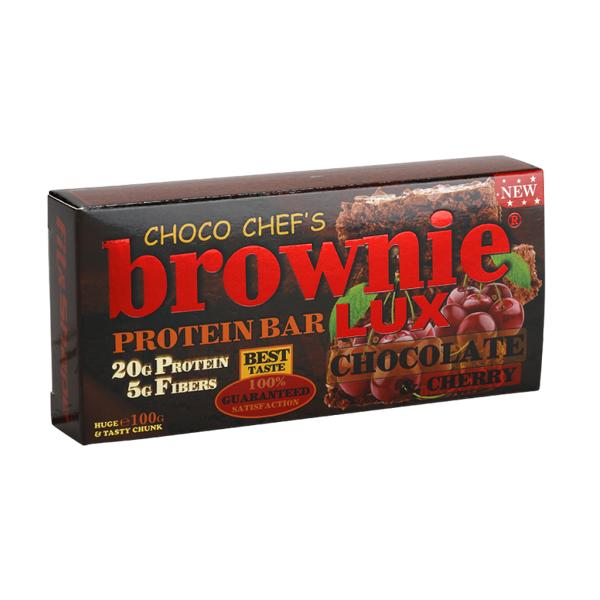 Brownie Protein Bar Lux Čokolada-višnja 100 g