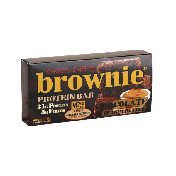 Brownie Protein Bar Čoko-kikiriki buter 100 g