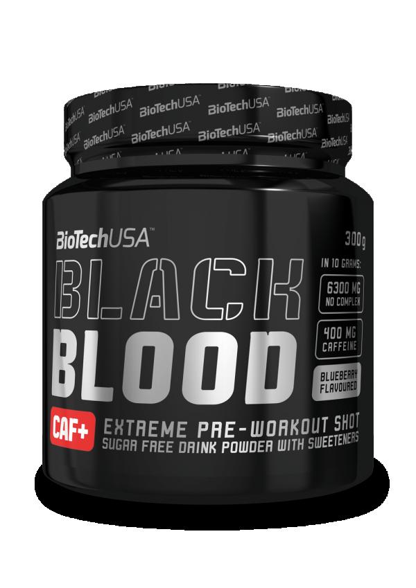 Black Blood Caf+ 300 g Borovnica
