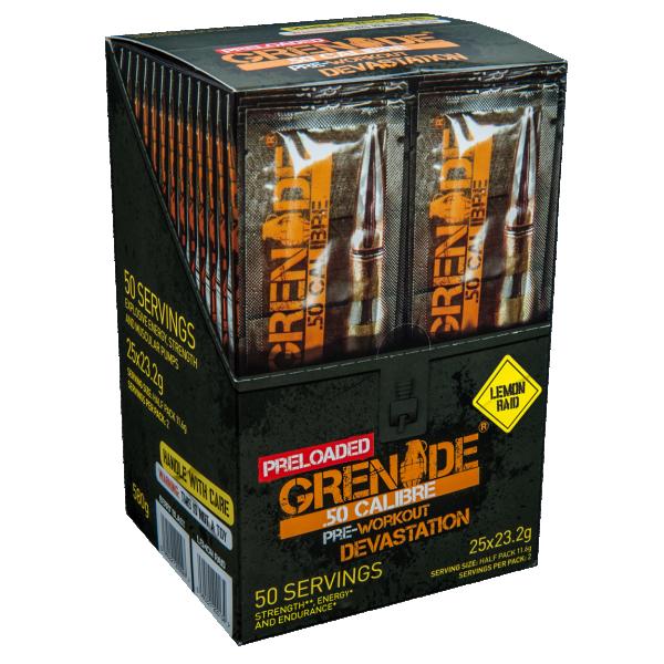 50 Calibre Preload 23 g Limun