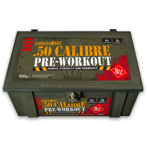 50 Calibre AMMO box 580 g Kola