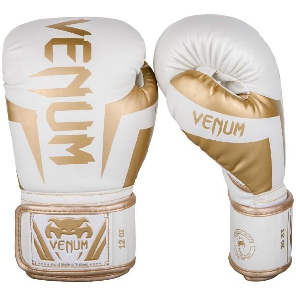 Rukavice za boks Venum Elite* W/Gold 10 OZ