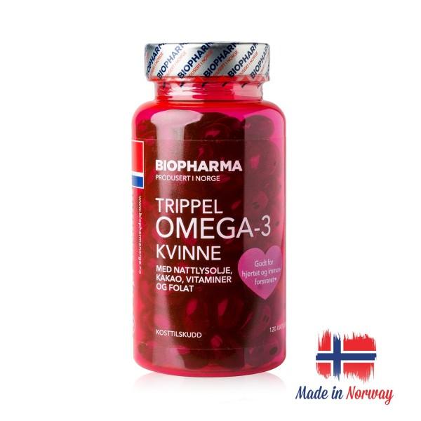 Norveška Omega-3 za Žene 122 gel kapsule